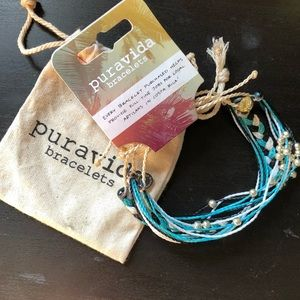 Pack of Three Blue Pura Vida Bracelet